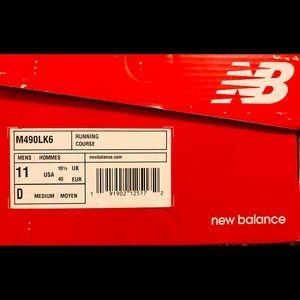 New Balance 490v6, Acteva Neutral Running Shoes.